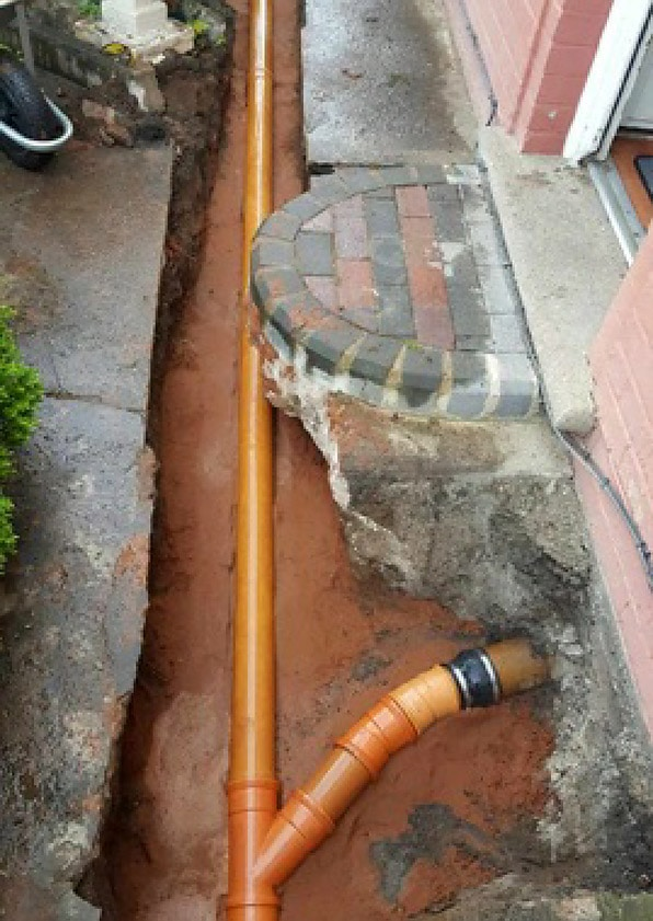 Domestic Drain replacement