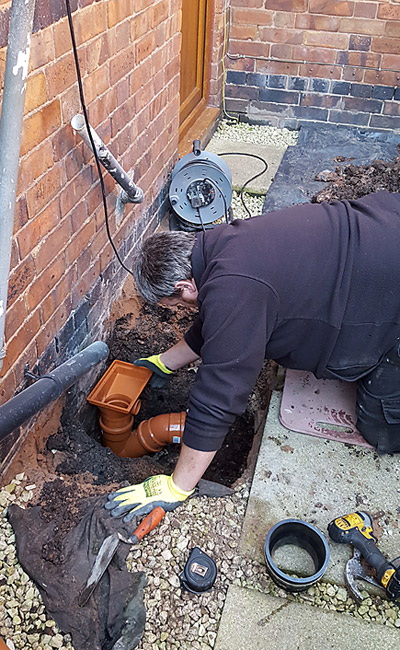 drain pipes replacement