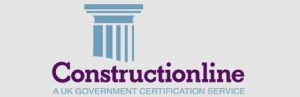 logo of construction on line