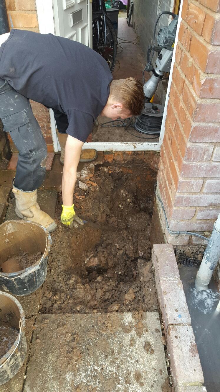 broken drain replacement great barr