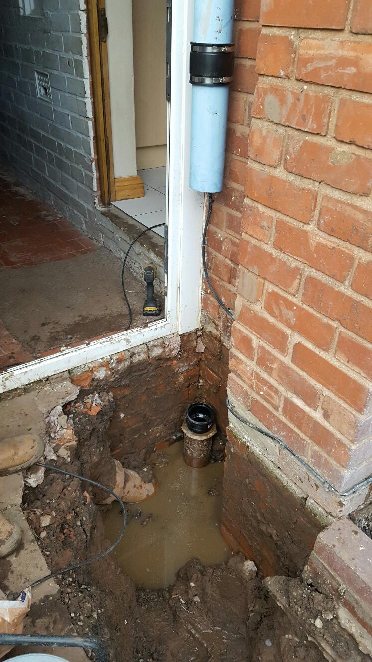 Drain pipe repair great barr