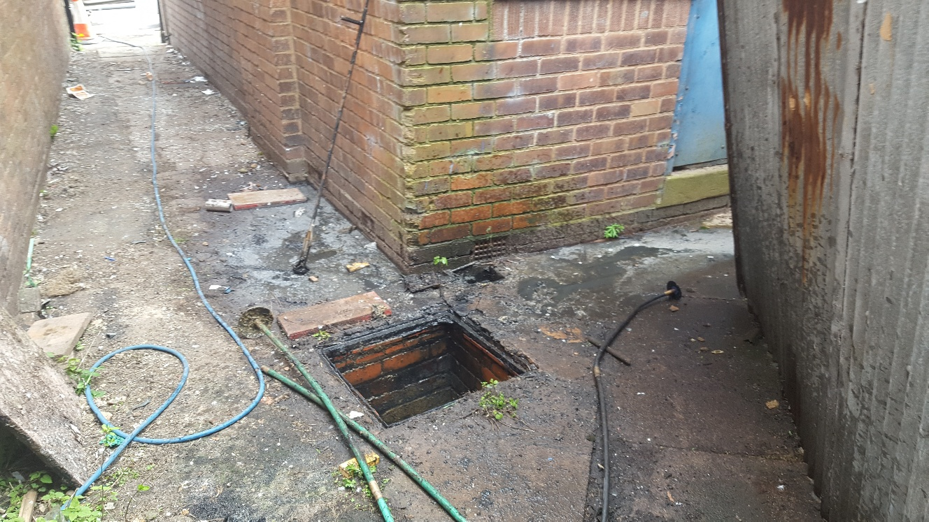 Drain and Alley Cleaning in Birmingham