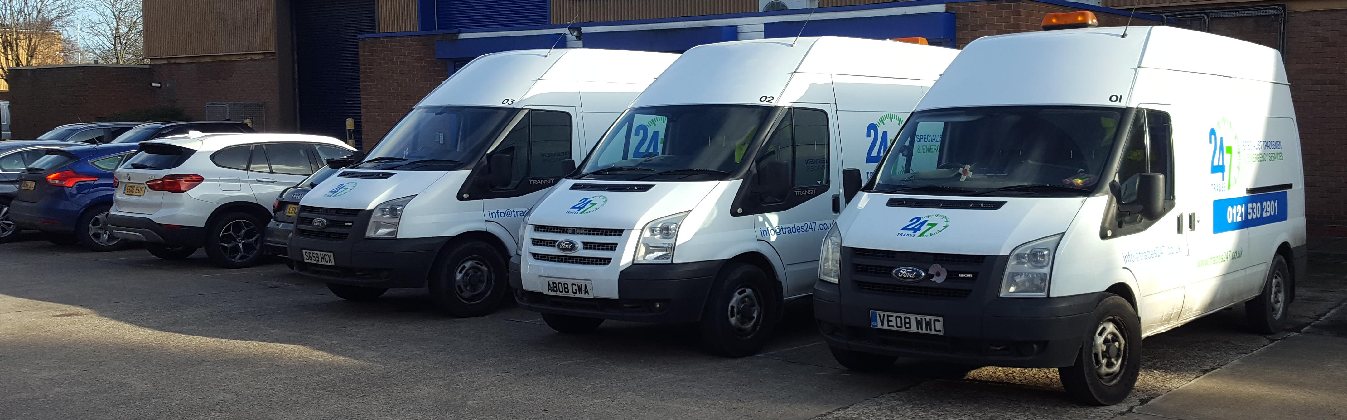 company vans 247 drains