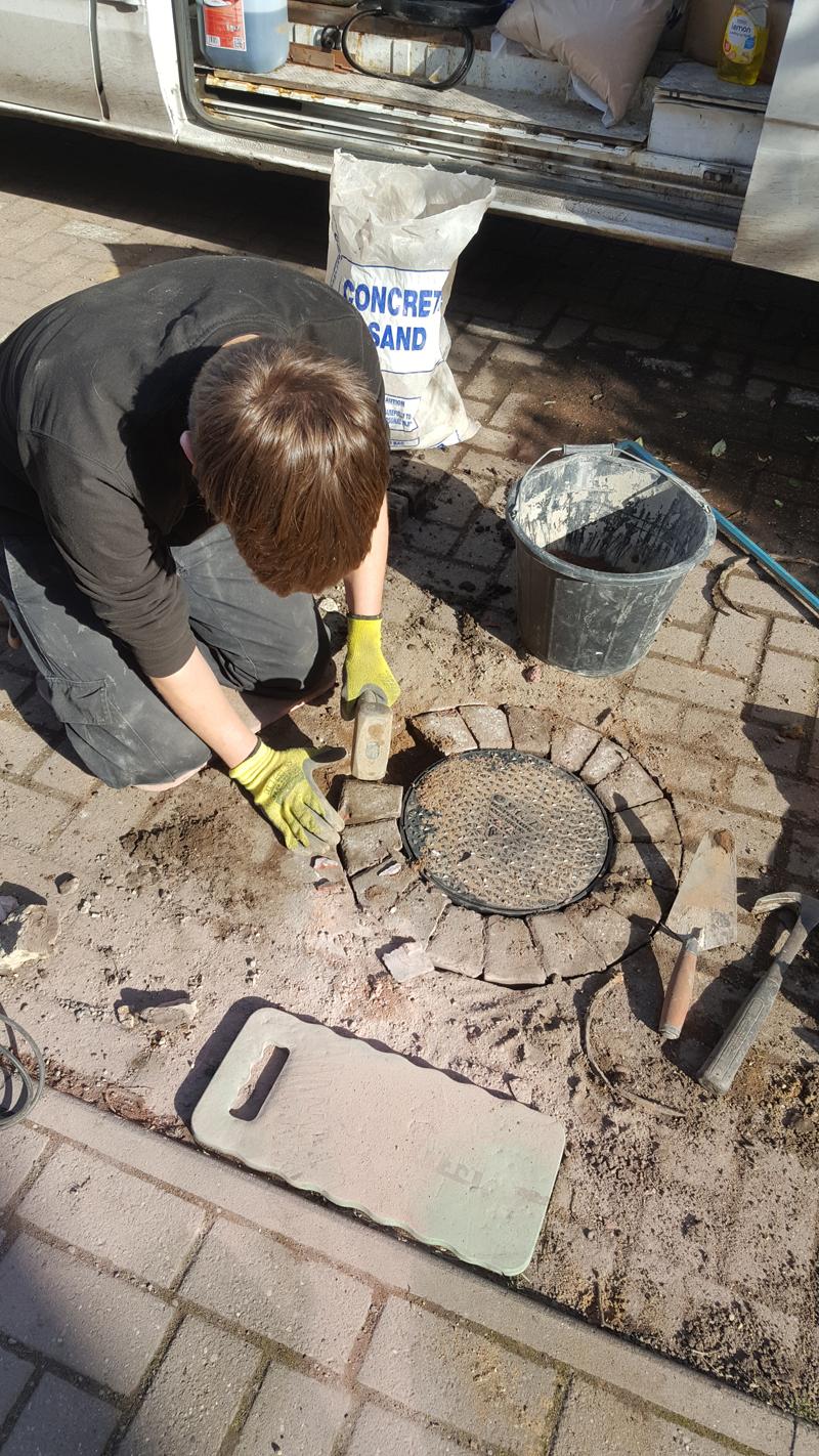 Broken Manhole Lid Replacement – Warwick