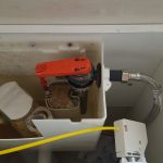 toilet valve replacement small