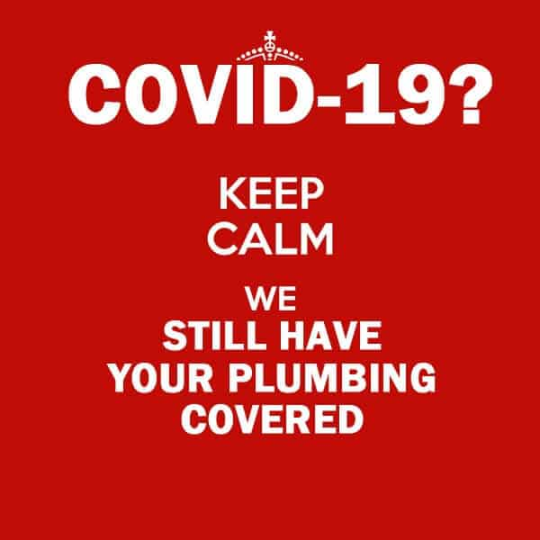 Plumbers affected by Covid-19