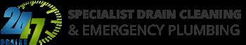 24/7 Drains Logo